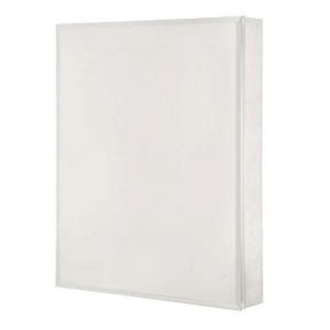 pegasus 24 in x 30 in recessed or surface mount medicine cabinet with silver beveled mirror