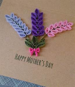 Quilled Hyacinth Card-customize | Quilling, Cards and ...