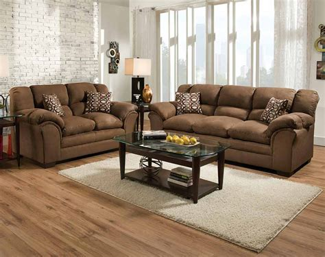 chocolate brown sofa and loveseat sofas couches loveseats