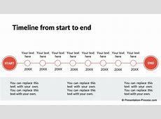 Flat Design Templates PowerPoint Timeline