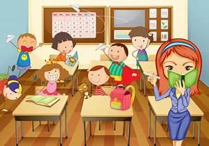 La clase de la profesora Tina