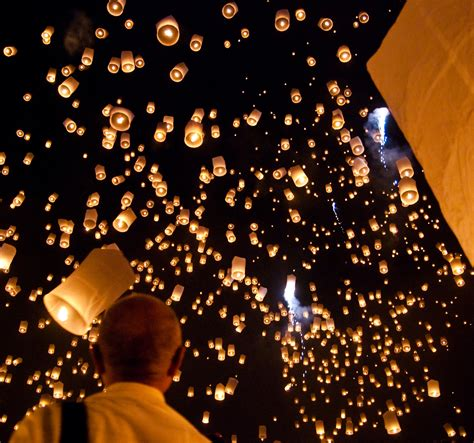 celebrating the year with sky lanterns brophy world
