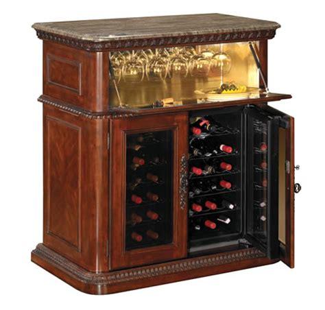 tresanti 36 bottle rutherford cherry wood wine cooler