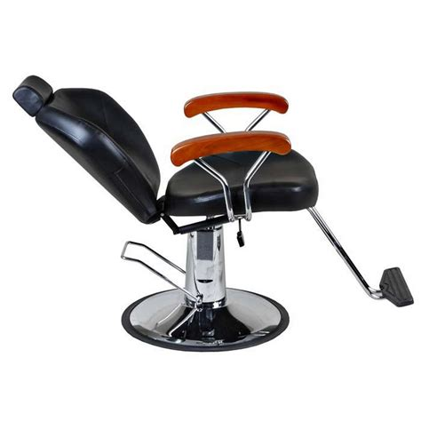 quot woody quot reclining barber salon styling chair base