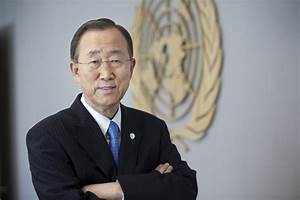 A message from United Nations' Secretary-General, Ban Ki ...