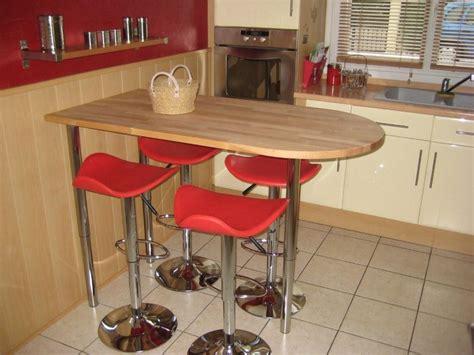 table bar photo 4 5 nous avons chang 233 la table classique contre une