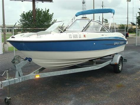 Used Bayliner Boats For Sale Texas by Bowrider New And Used Boats For Sale In Texas