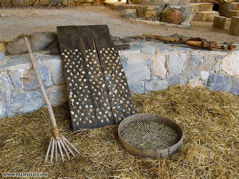 threshing sledge biblical times