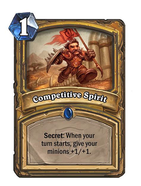 competitive spirit hearthstone card