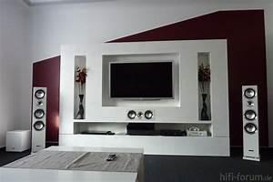 Wohnzimmer Farbe Gestaltung : wohnzimmer medienwand bdt310 heimkino medienwand wohnzimmer xbox360 hifi ~ Markanthonyermac.com Haus und Dekorationen