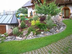 Ideen Gartengestaltung Hang : b schungen erwin wieland garten und au enanlagen ogrody ~ Markanthonyermac.com Haus und Dekorationen