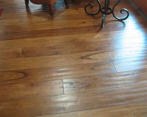 Hand-scraped Rustic Hickory Maintaining Laminate Flooring Can Steam Mops Be Used On How To Install Ceiling Installing Around Doors Removing Stains From Floors Homebase You Use Bona Cost
