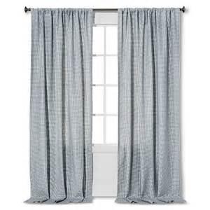 nate berkus woven curtain panel target