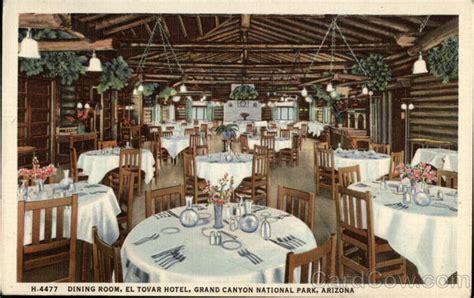 dining room el tovar hotel grand national park arizona