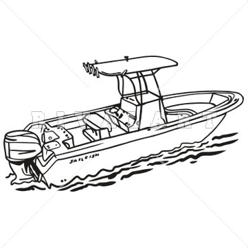 Fishing Boat Art by Fishing Boat Clip Art Clipart Free Clipart