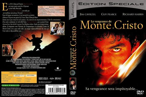 jaquette dvd de la vengeance de monte cristo cin 233 ma