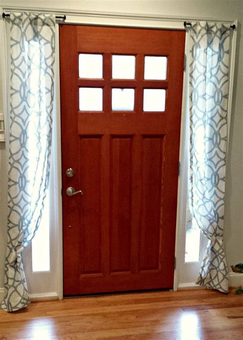 best 25 sidelight curtains ideas on door