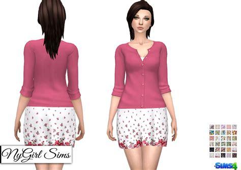 Sundress With Cardigan Sweater