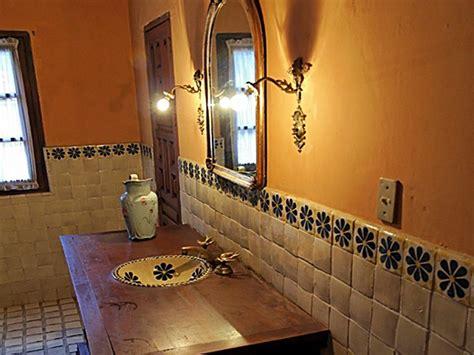 Rustic Restaurant Decor Ideas, Mexican Style Bathroom