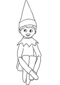 The Berenstain Bears Christmas Tree by Christmas Elf On Shelf Coloring Page Free Printable