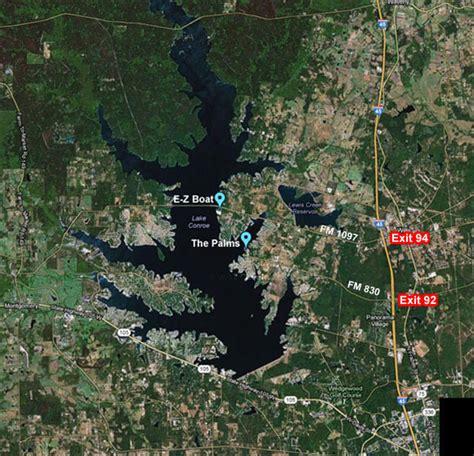 Public Boat Launch Lake Conroe by Palms E Z Boat Map 1 187 E Z Boat Storage Valet Launch