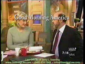 Jerry L. Steering Interview with Diane Sawyer on Good ...