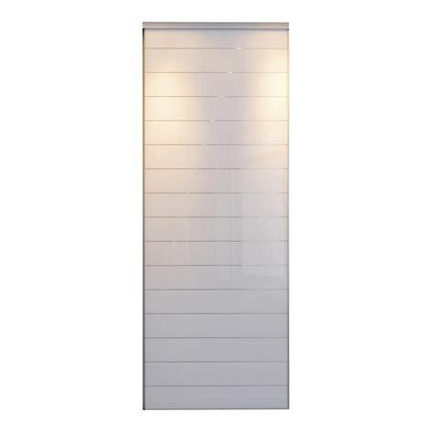 porte de placard coulissante sur mesure optimum uno de 80 1 224 100 cm leroy merlin
