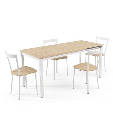 table de cuisine avec rallonge integree