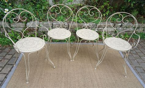 fauteuil de jardin fer forg 233 ancien