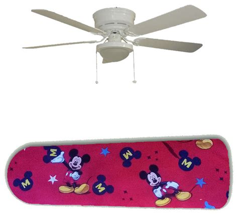 classic mickey mouse on 52 quot ceiling fan and l