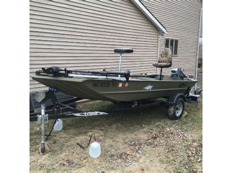 Used Duck Hunting Boats For Sale In Michigan by Lowe Jon Boat Boats For Sale