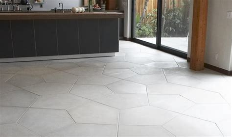 cuisine blanche mur gris 13 carrelage b233ton sol et murs pour int233rieur ou ext233rieur