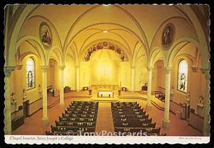 Chapel Interior, Saint Joseph's College / HipPostcard