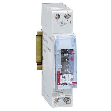 inter horaire analogique manuel 1 module legrand 412790 electricit 233