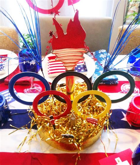 17 Best Images About Olympic Theme Centerpieces And More