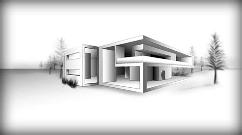 Top 28+  Modern Architecture Drawing Modern House
