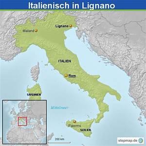 Italienische Schweiz Karte : italienisch in lignano von rob2000 landkarte f r italien ~ Markanthonyermac.com Haus und Dekorationen