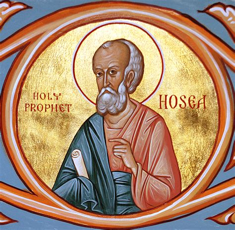 Prophet Hosea  Orthodox Church In America