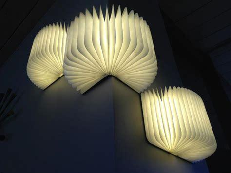 A Portable Light That Folds Like A Book