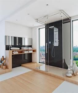 Badezimmer Design Fliesen : duschen geht ohne fliesen hwz ~ Markanthonyermac.com Haus und Dekorationen