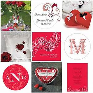 Traditional Valentine's Day colors of red and white ...
