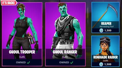 *new* Ghoul Trooper Set In Fortnite!