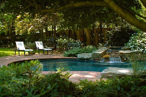 Garden Pool : Nature Garden Swimming Pools Design Swimming Pool Design