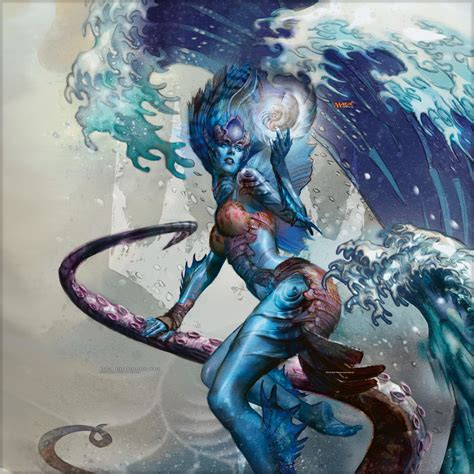 wallpaper of the week kiora the crashing wave magic