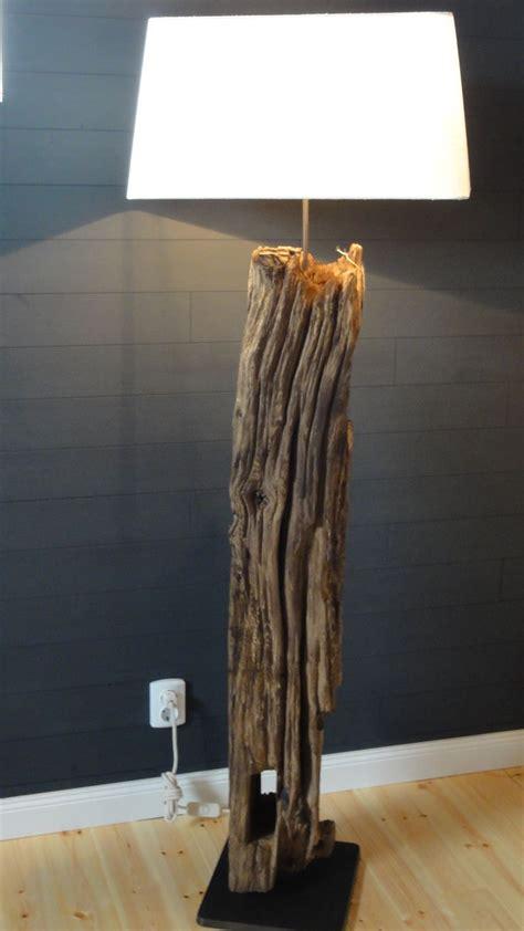 Stehlampe Mit Holzfuß  Haus Dekoration
