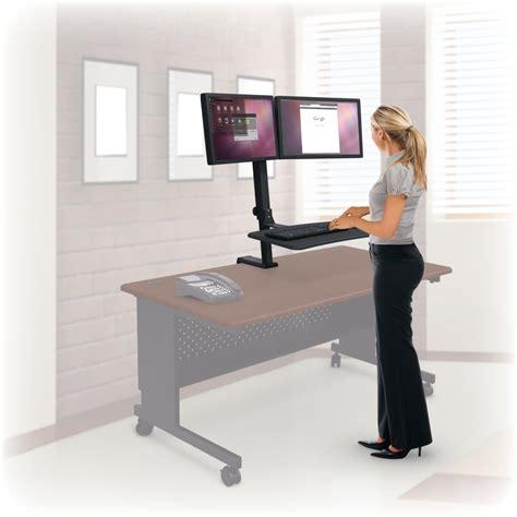 standup computer desk standing desk office depot desk best stand up workstation ideas on