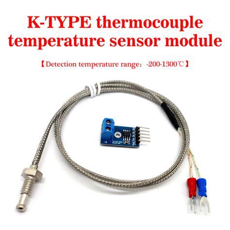 k type thermocouple high temperature exhaust probe sensor module kit max6675 threads new high