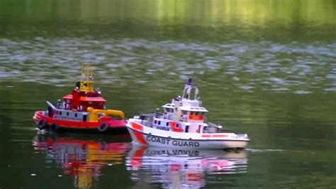 Rc Fire Boat Youtube by Us Coast Guard Fire Boat Rc Boat Ship Youtube