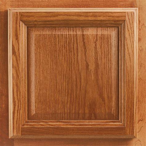 american woodmark 13x12 7 8 in cabinet door sle in portland oak honey 99904 the home depot