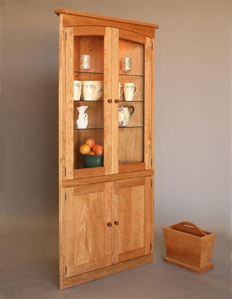 Simply Beautiful Corner Cabinet  Hardwood Artisans